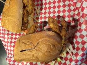 Soft Shell Crab Po Boy